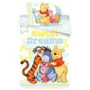 Disney Pooh bedding cover 140 × 200cm, 70 × 90 cm