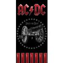 nagyker Otthon és dekoráció: AC/DC fürdőlepedő, strand törölköző 70*140cm