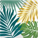 mayorista Articulos de fiesta: Plato de papel Key West con 8 piezas de 17,8 cm