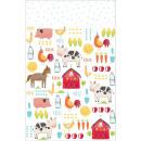 Barnyard, Pata farmhouse Table cloth 243 * 137 cm
