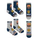 Skarpety dziecięce FCB, FC Barcelona 27-38