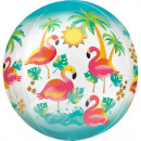 Flamingo, Flamingo Ball Foil Balloons 40 cm