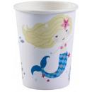 Mermaid, Mermaid paper cup 8 pcs 250 ml