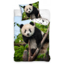 Pościel Panda 140 × 200 cm, 70 × 90 cm
