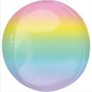 Balony foliowe Ombré Pastelowe 40 cm
