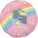 Arcobaleno olografico, palloncini in lamina arcoba