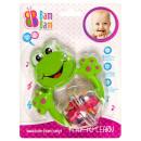 groothandel Baby speelgoed:Kikker baby rammelaar