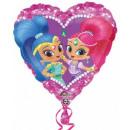 grossiste Articles de fête: Shimmer and Shine Ballons Foil 43 cm
