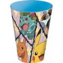Pokémon cup, plastic 430 ml