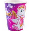 Safiras paper cup 8 pieces 250 ml