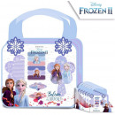 Disney Ice magic hair accessory + toiletry bag