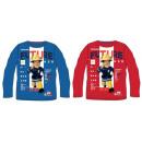 Gyerek hosszú póló,felső Fireman Sam,Sam a tűzoltó