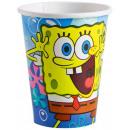 Spongebob,  SpongeBob  kartonnen beker 8 ...
