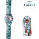 Disney Cyfrowy zegarek ze światłem Ice Magic