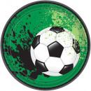 Football Goal, Football Soccer Plate 8 pcs 17.7 cm
