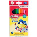 Trójkątna kredka Play-Doh Jumbo 12 szt.