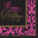 Happy Birthday Serviette mit 36 Stück, 25 * 25 cm