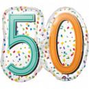 Happy Birthday 50 Foil balloons 63 cm