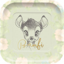 Disney Bambi Cutie Dessert paper plate 4 pieces