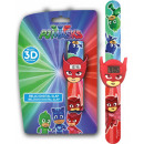 Digital 3D Watch PJ Masks, Pisces Heroes
