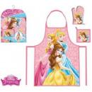 Set di 3 grembiuli per bambini Disney Princess
