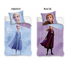 wholesale Bed sheets and blankets: Disney Ice magic bedding 140 × 200cm, 70 × 90 cm
