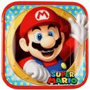 Super Mario Paper Plate 8 x 23 cm