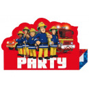 Fireman Sam , Sam is the Firefighter Party Invitat