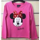 DisneyMinnie cekinowa koszulka dziecięca z długim