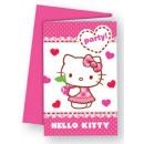 Hello Kitty Party Invitation 6 pcs