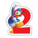 groothandel Kaarsen & standaards: Disney Mickey cake kaars, cijfer kaars