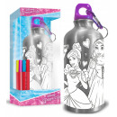 Colorable aluminum bowl with carabiner Princess