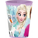Disney Frozen, vetro congelato, in plastica 260 ml