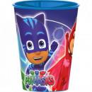PJ Masks, Pizsihősök glass, plastic 260 ml