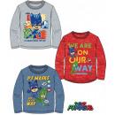 T-shirt a manica lunga per bambini PJ Masks, Pisce