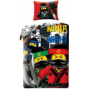 LEGO biancheria Ninjago 140 x 200 cm, 70 x 90 cm