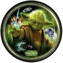 mayorista Articulos de fiesta: Star Wars Plato de papel 8 piezas 19,5 cm