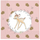 Disney Bambi Cutie Napkin 20 Pieces
