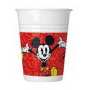 Disney Mickey Plastic cup 8 pcs 200 ml