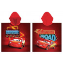 Disney Cars , Verdas beach towel poncho 55 * 110