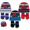 cappelli e guanti per bambini impostati Spiderman,