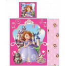 Bedding Cover Disney Sophia 140 × 200cm, 70 × 90 c