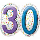 Happy Birthday 30 Foil balloons 63 cm