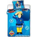 Sam the Firefighter Kids Bedding Cover 100 × 135cm
