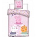 Peppa Schwein Kinderbettwäsche 100 × 135 cm, 40 ×
