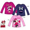 groothandel Licentie artikelen: Kinder T-shirt met lange mouwen Disney Minnie 3-8