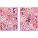Disney Princesses Hologram Sticker 2 sheets