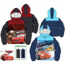 Kids lined jacket with Disney Verdas, Cars 3-8 yea