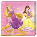 Serviette Disney Princesse , Princesse avec 20 piè