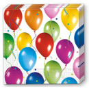 Großhandel Home & Living:Ballon-Serviette 20 PC